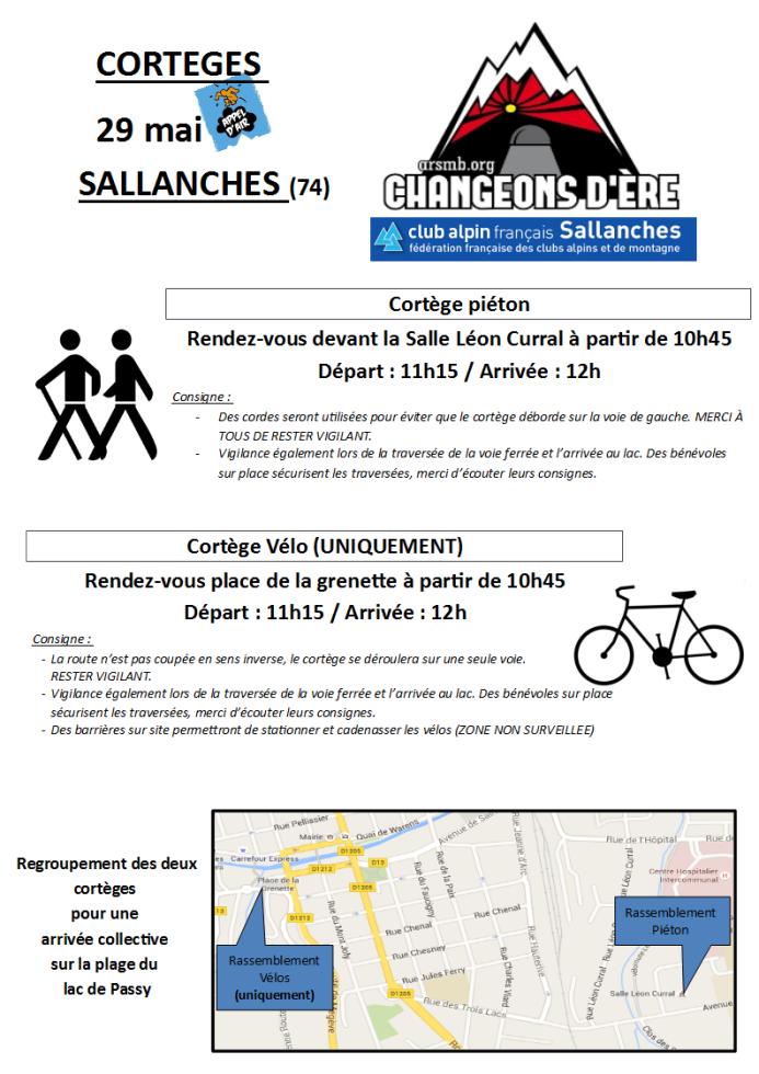 Cortege départ Sallanches (1)